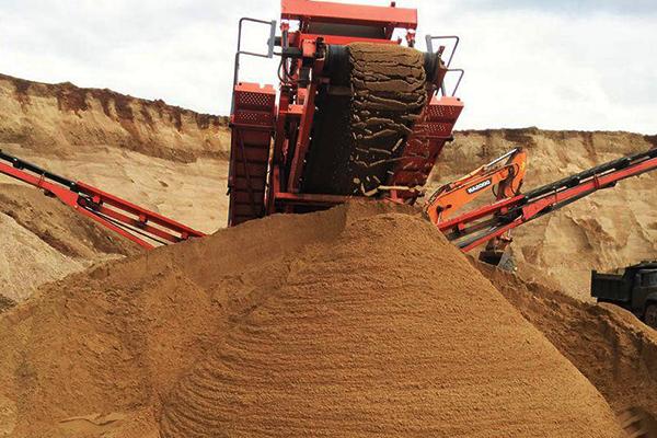 Купить песок сеяный в Борисове